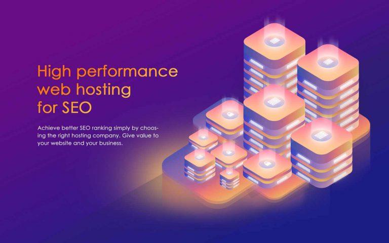 Web hosting for SEO